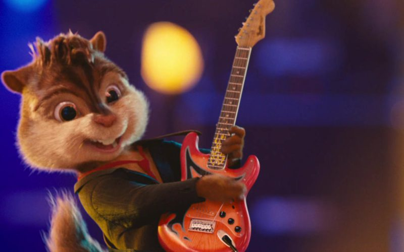Fender Guitars in Alvin and the Chipmunks (3)