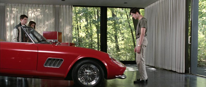 Ferrari 250 GT Spyder California (1961) in Ferris Bueller's Day Off (1986) - Movie Product Placement