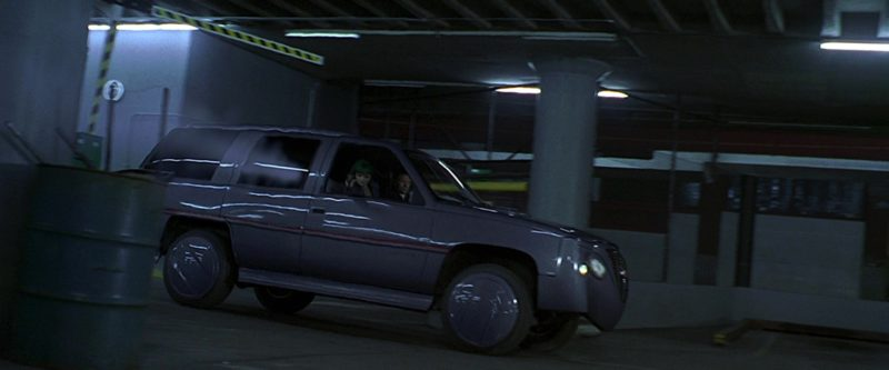 GMC Futuristic Car in The 6th Day (2000) Movie Product Placement