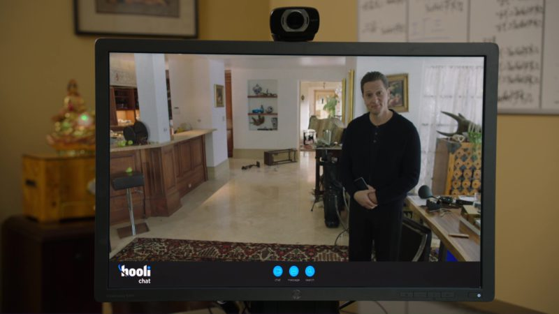 HP Monitor in Silicon Valley: Fifty-One Percent (2018) TV Show Product Placement
