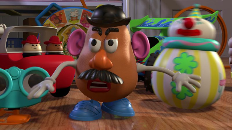 Hasbro Mr. Potato in Toy Story (1995) - Animation Movie Product Placement
