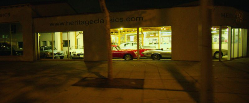 Heritage Classics Motorcar Company in Nightcrawler (2014) Movie Product Placement