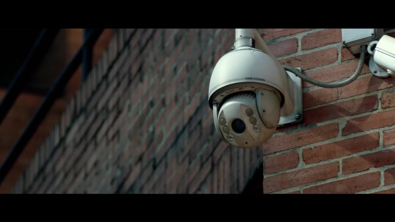 Hikvision Camera in Mile 22 (2018) Movie Product Placement
