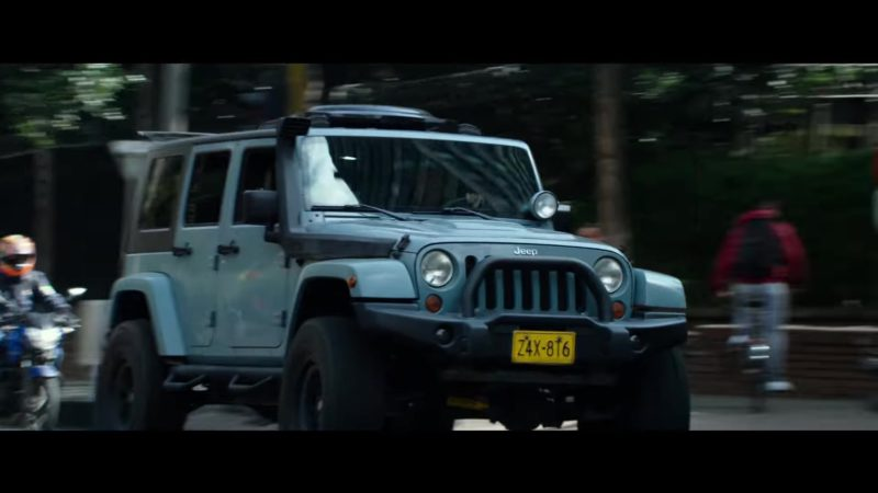 Jeep Wrangler in Mile 22 (2018) Movie Product Placement