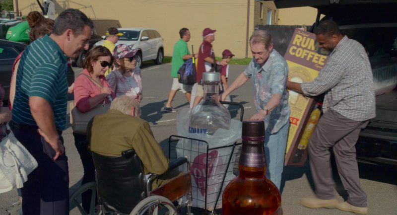 Kahlúa Liqueur, Absolut Vodka and Chivas Regal in The Week Of (2018) Movie Product Placement