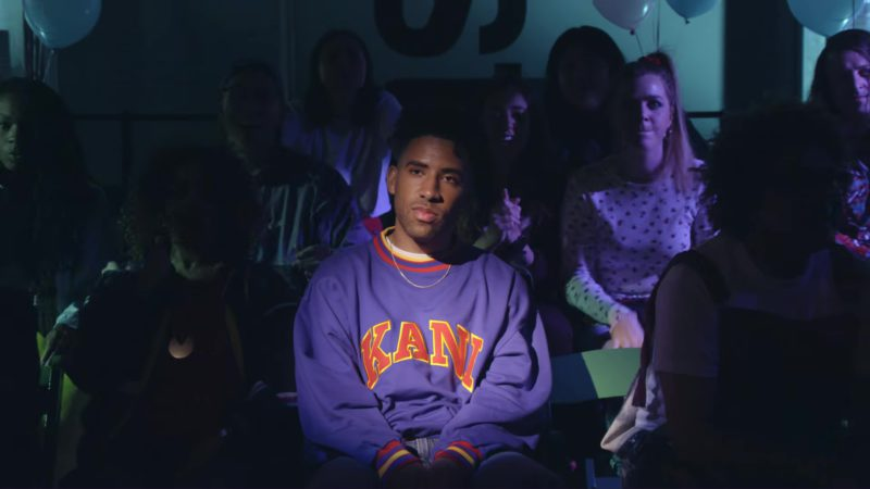 Karl Kani Sweatshirt Worn by KYLE in Playinwitme (2018) Official Music Video Product Placement
