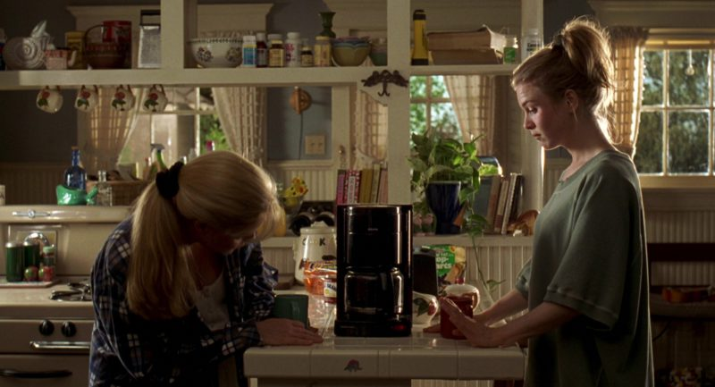 Krups Coffee Maker Used by Renée Zellweger and Bonnie Hunt in Jerry Maguire (1996) Movie Product Placement
