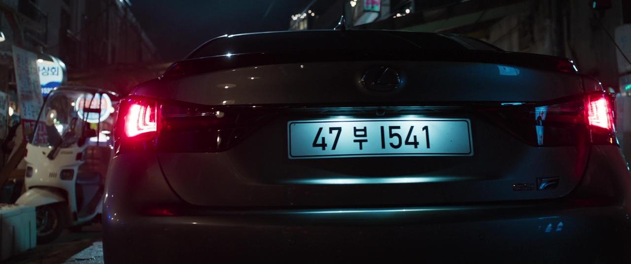 Lexus Gs F Car In Black Panther 2018 Movie