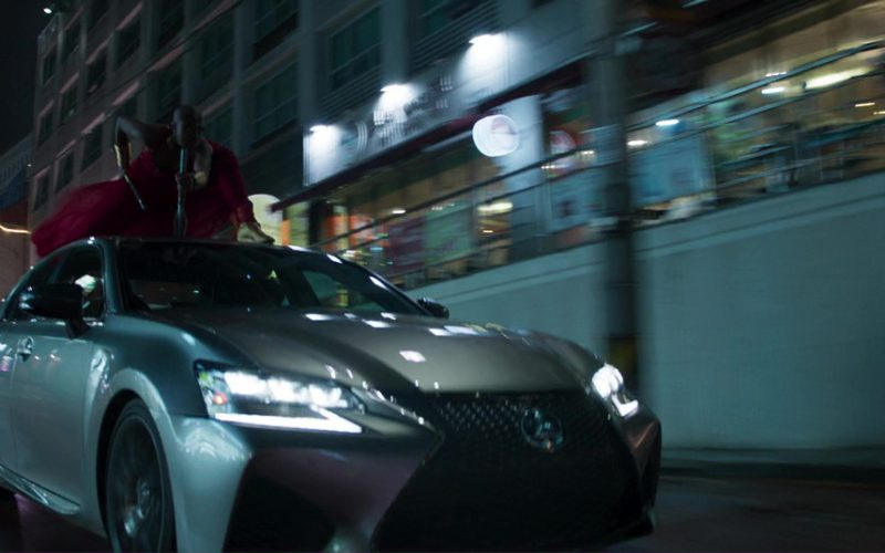 Lexus GS F Car in Black Panther (7)