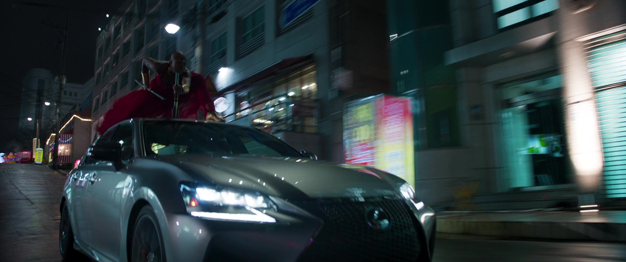 Lexus Gs F Car In Black Panther 2018 Movie