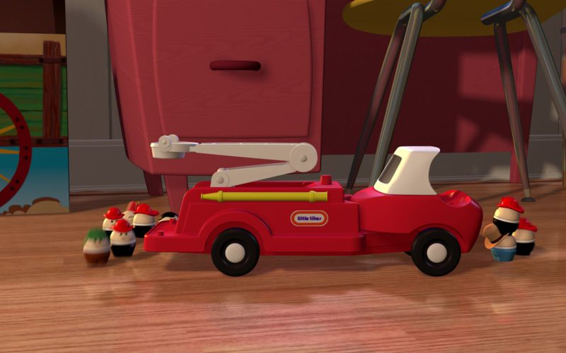 Little Tikes Car in Toy Story