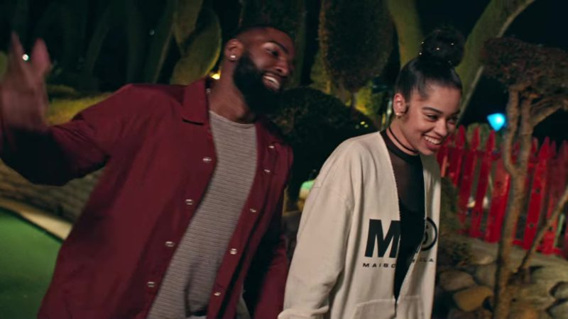 Maison Margiela Outfit Worn by Ella Mai in Boo'd Up (2018) Official Music Video Product Placement