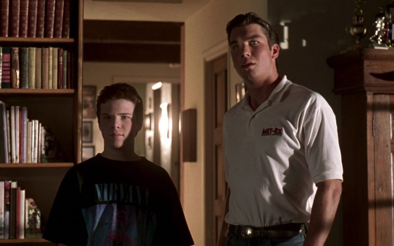 Met-Rx Sports Nutrition Polo Shirt Worn by Jerry O'Connell in Jerry Maguire