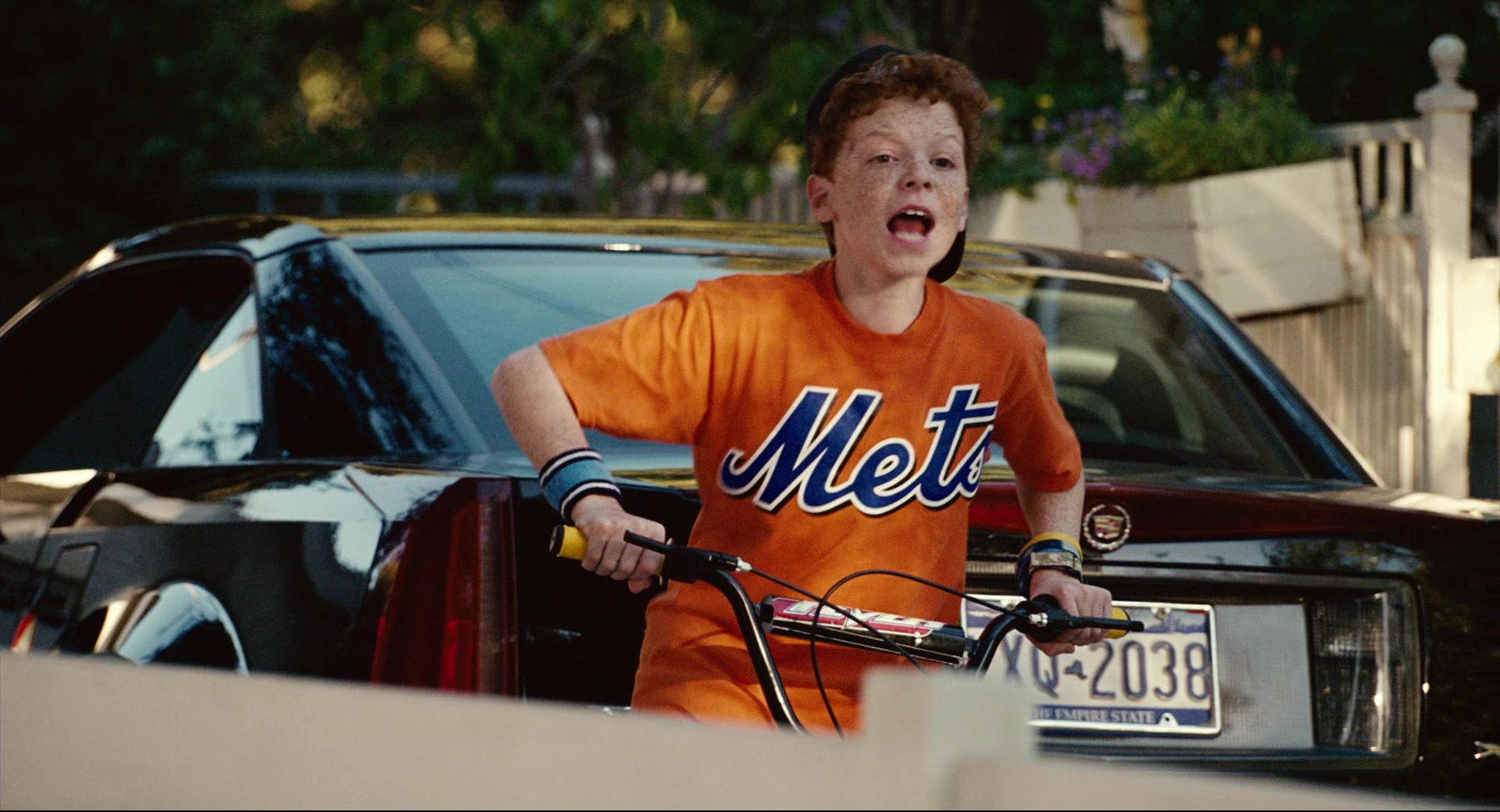 Mets T Shirt Worn By Cameron Monaghan In Click 2006