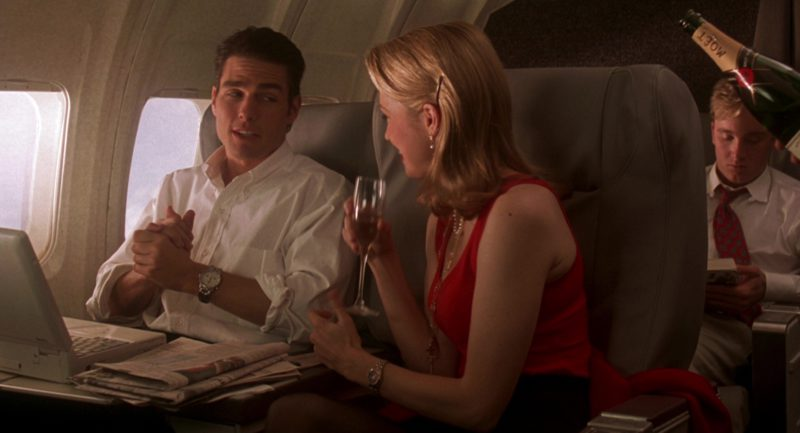 Moët & Chandon Champagnes in Jerry Maguire (1996) Movie Product Placement