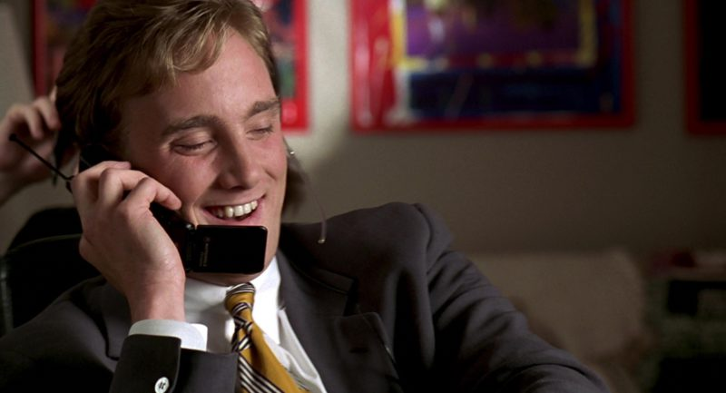 Motorola Phone Used by Jay Mohr in Jerry Maguire (1996) Movie Product Placement