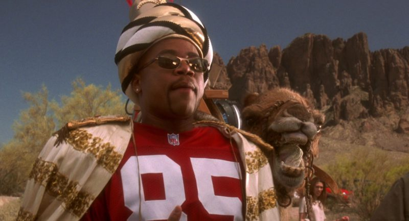 NFL Jersey And Ray-Ban Sunglasses Worn by Cuba Gooding Jr. in Jerry Maguire (1996) - Movie Product Placement