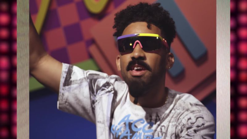 Neff Sunglasses Worn by KYLE in Playinwitme (2018) Official Music Video Product Placement