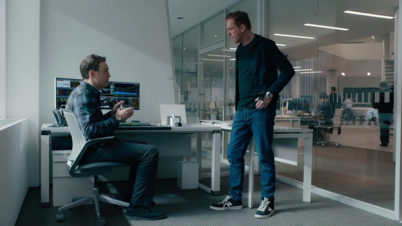 New Balance Shoes Worn by Damian Lewis in Billions: Not You, Mr. Dake (2018) TV Show Product Placement