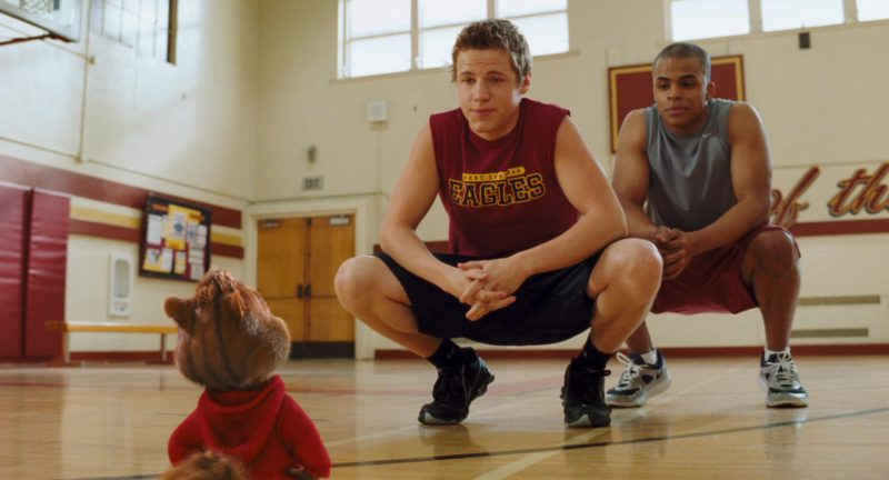 Nike Men's Shoes in Alvin and the Chipmunks: The Squeakquel (2009) Movie
