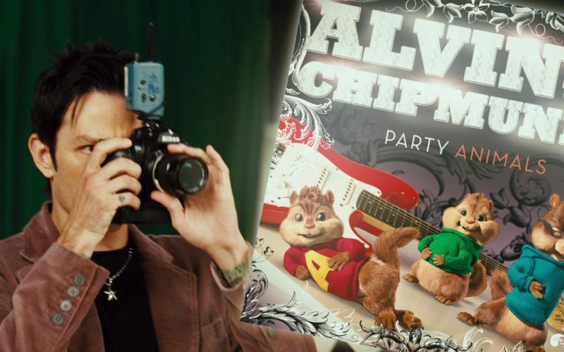 Nikon Camera in Alvin and the Chipmunks