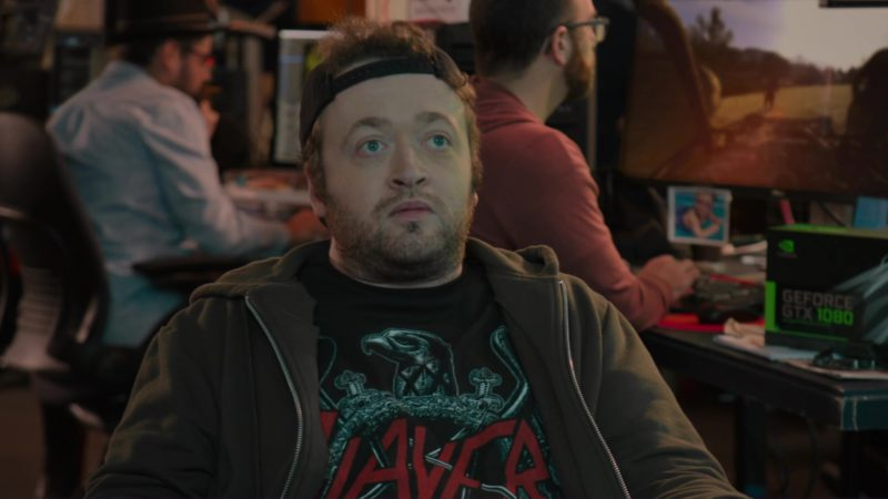 Nvidia GeForce GTX 1080 Graphics Card in Silicon Valley: Tech Evangelist (2018) - TV Show Product Placement