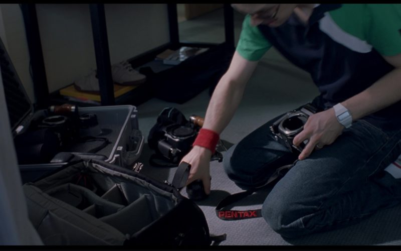 Pentax Camera And Beams Bohla Watch Used by Giovanni Ribisi in Lost in Translation (1)