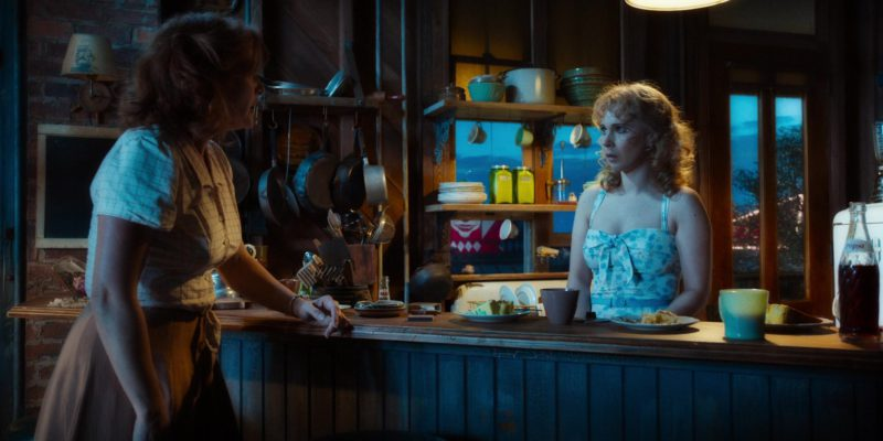 Pepsi Bottle in Wonder Wheel (2017) - Movie Product Placement