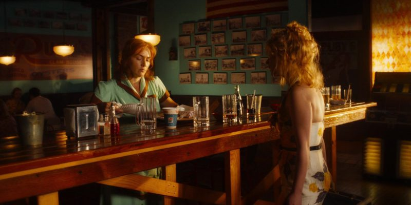 Pepsi Paper Cup in Wonder Wheel (2017) Movie Product Placement