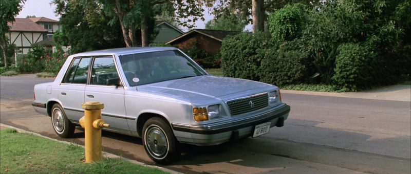 Plymouth Reliant K Car Used by Jeffrey Jones in Ferris Bueller's Day Off (1986) Movie