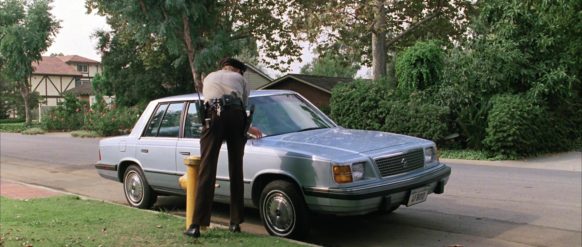 Plymouth Reliant K Car Used By Jeffrey Jones In Ferris