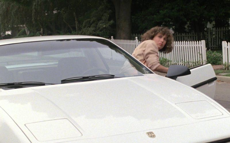 Pontiac Fiero Car Used by Jennifer Grey in Ferris Bueller's Day Off (1)