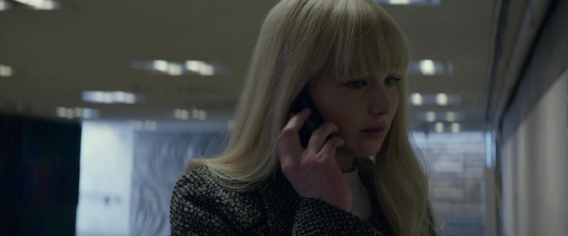 Prestigio Phone Used by Jennifer Lawrence in Red Sparrow (2018) - Movie Product Placement