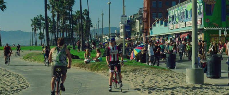 Rapha Jersey in Nightcrawler (2014) - Movie Product Placement