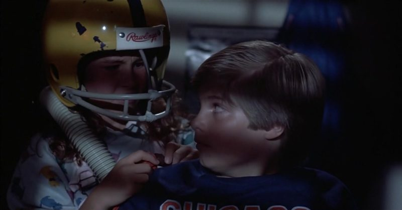Rawlings Football Helmet in Mac and Me (1988) - Movie Product Placement