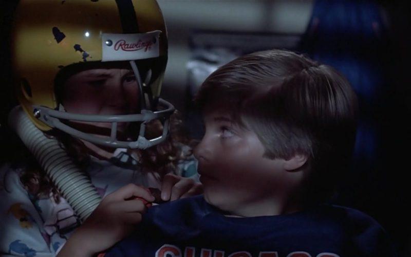 Rawlings Football Helmet in Mac and Me