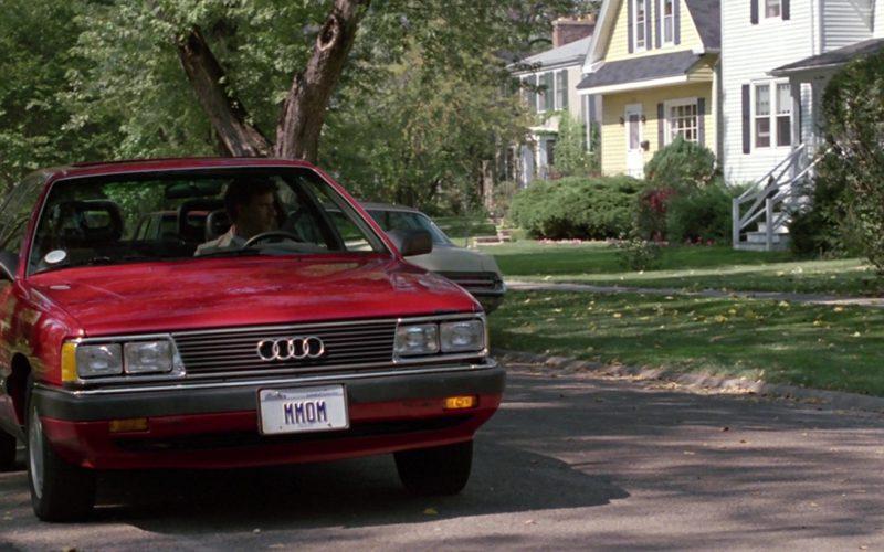 Red Audi 5000 C3 Car Used by Lyman Ward in Ferris Bueller's Day Off (2)