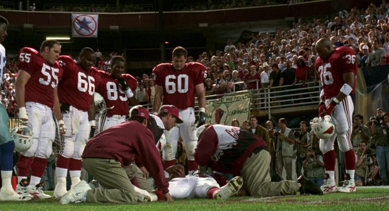 Russell Athletic American Football Uniform and Boots in Jerry Maguire (1996) Movie Product Placement