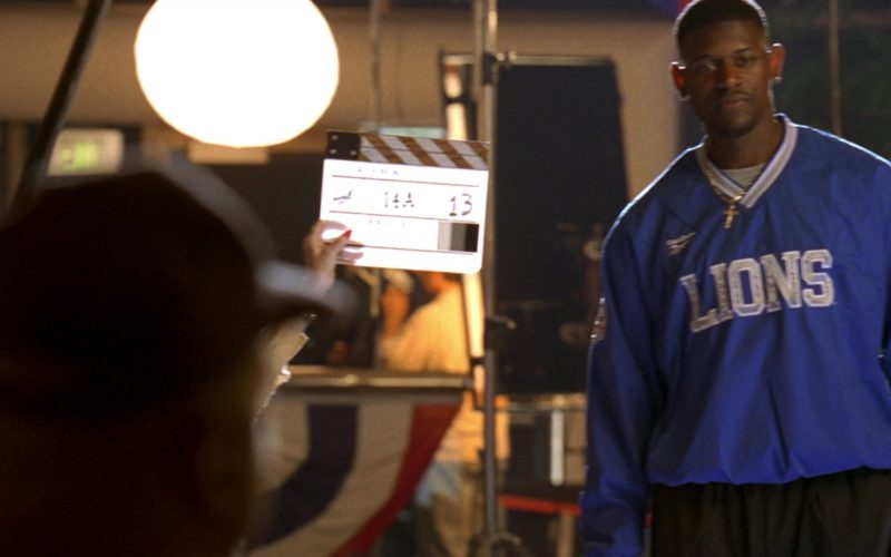 Reebok Detroit Lions Blue Jersey in Jerry Maguire