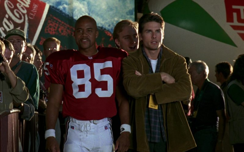 Reebok NFL Jersey Worn by Cuba Gooding Jr., Coca-Cola, Fuji in Jerry Maguire (2)