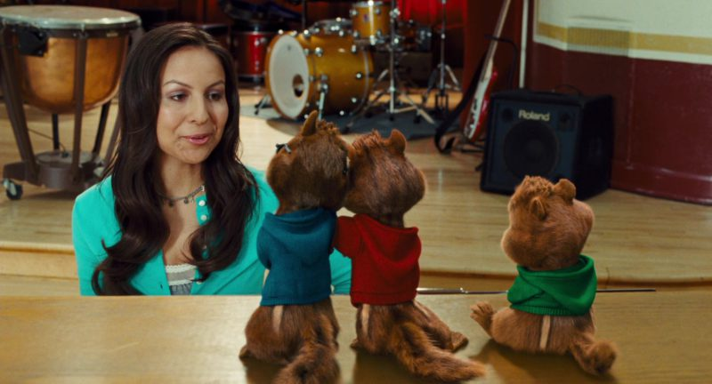 Roland Amplifier in Alvin and the Chipmunks: The Squeakquel (2009) - Movie Product Placement