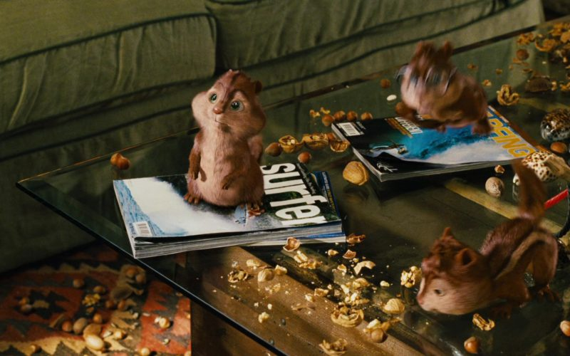 SURFER Magazine in Alvin and the Chipmunks (1)