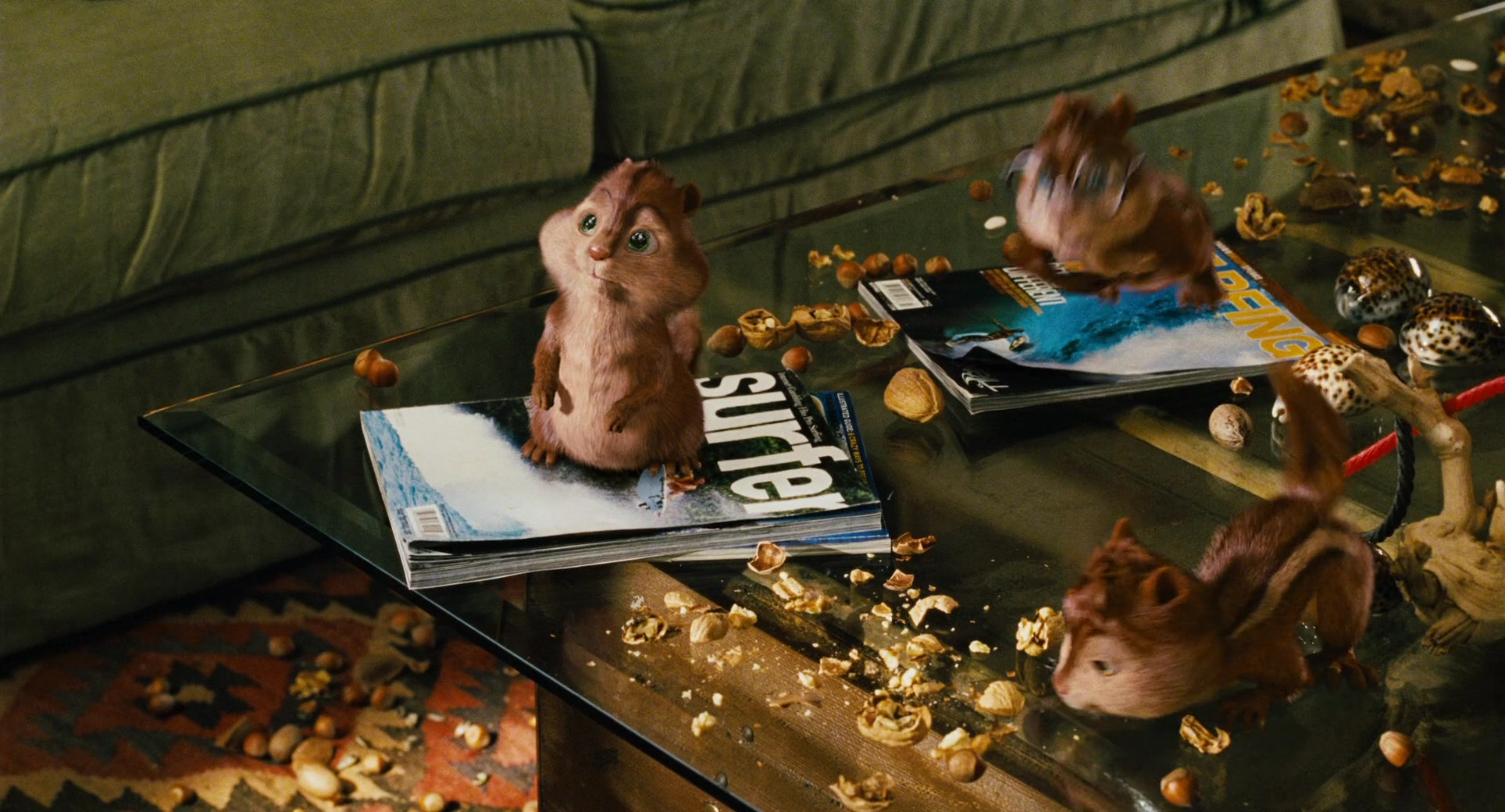 List Of Car Brands >> SURFER Magazine in Alvin and the Chipmunks (2007) Movie