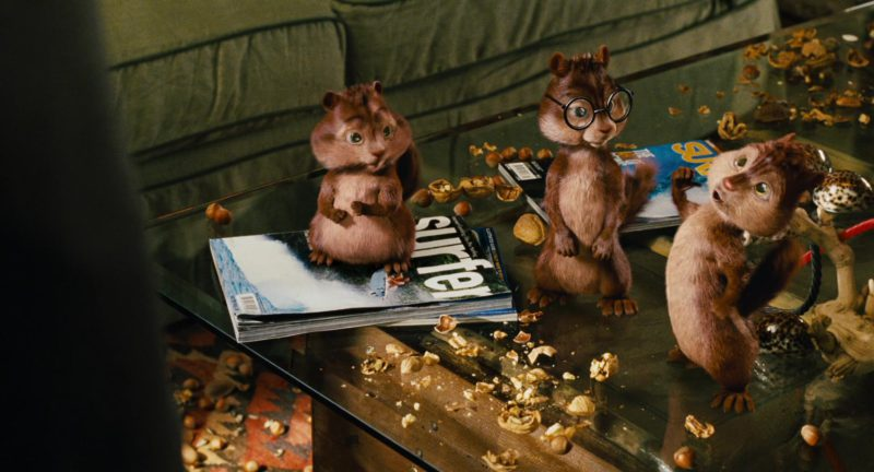 SURFER Magazine in Alvin and the Chipmunks (2007) Movie Product Placement