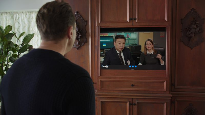 Samsung TV/Monitor Used by Matt Ross in Silicon Valley: Fifty-One Percent (2018) TV Show Product Placement