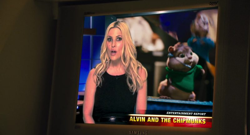 Samsung TV in Alvin and the Chipmunks (2007) - Movie Product Placement