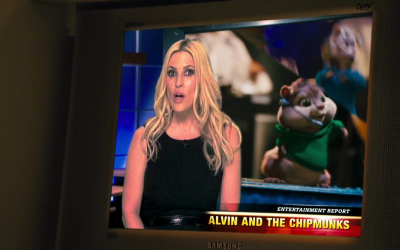 Samsung TV in Alvin and the Chipmunks
