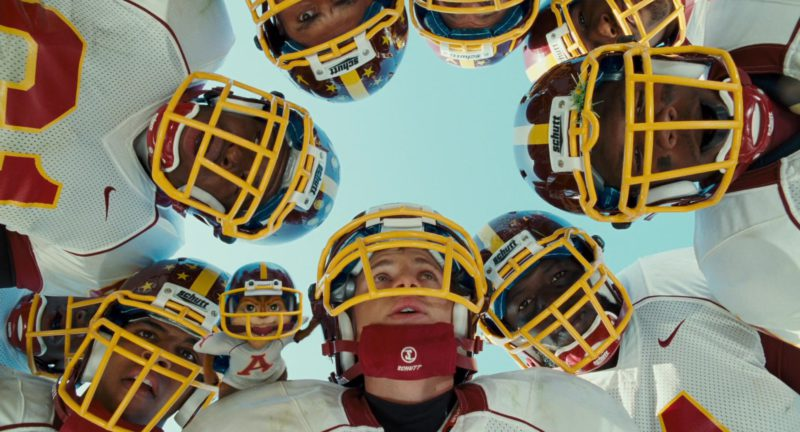 Schutt Football Helmets in Alvin and the Chipmunks: The Squeakquel (2009) - Movie Product Placement