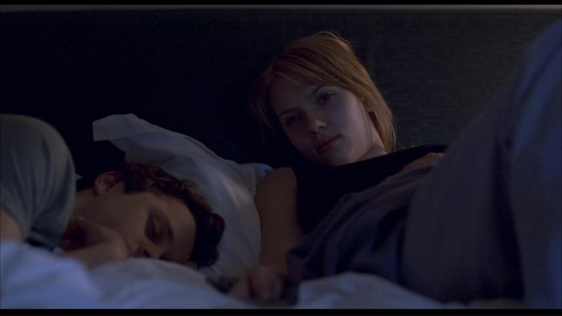 Sharp TV Used by Scarlett Johansson in Lost in Translation (2003) - Movie Product Placement