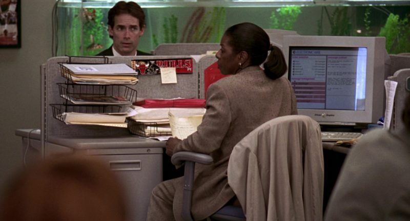 Silicon Graphics Monitors in Jerry Maguire (1996) Movie Product Placement